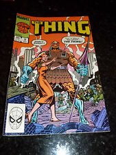 THE THING Comic - No 9 - Date 03/1984 - MARVEL Comic