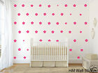 48 Flowers removable wall stickers for Nursery or kids room