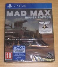 Mad Max Ripper Edition PS4 - Factory Sealed - PAL UK Limited Collectors