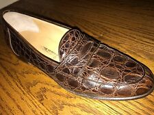 Salvatore Ferragamo Alligator Crocodile Loafers $1299