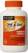 2 Pack One-A-Day Womens Multivitamin Supplement Womens Formula 200 Tablets Each