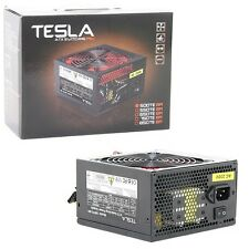 Tesla 500W Silent ATX  PC Power Supply with 120mm Red FAN PSU,PFC, 2x SATA