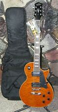 OS by Washburn / OE20 QTE / LP Style / Single Cutaway Electric Guitar / Gig Bag