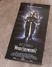 Wicked Stepmother 1989 Bette Davis Cohen Barbara Carrera Witches Video Poster VG