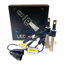 Fanless LED Headlight Kit 880 893 6000K White Canbus Conversion Fog Light Bulbs