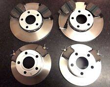 QUALITY JURATEK FRONT & REAR BRAKE DISCS AND PADS AUDI A6 (C4 C5) CHECK SIZES