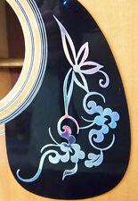 Guitar Pick Guard Decal Flower Vinyl Decal / Sticker