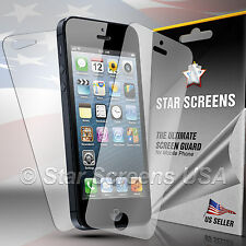 6pc = 3 front + 3 back HD Clear LCD Screen Display Protector for Apple iPhone 5