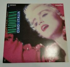 Ciao Italia: Live [Laser Disc] [VIDEO] by Madonna (Jul-1991, Pioneer Artists)