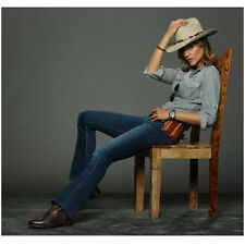 Killer Women with Tricia Helfer as Molly Seated Wearing Hat 8 x 10 Inch Photo