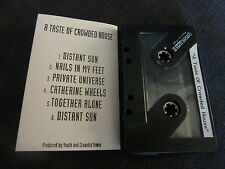 A TASTE OF CROWDED HOUSE ULTRA RARE ADVANCE CASSETTE TAPE!