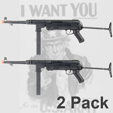 MP40 Airsoft Gun M40 WWII Submachine New Spring Rifle Replica SET of 2 cheap