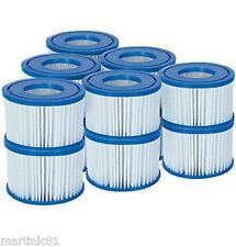 12 x BESTWAY LAY Z SPA FILTER CARTRIDGE VI MIAMI VEGAS PALM SPRING 2015 STYLE