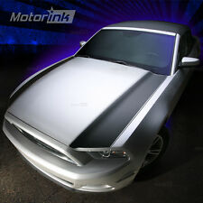 2013-2014 Ford Mustang  Hood Accent Side Blackout  Stripes vinyl decal kit 13 14