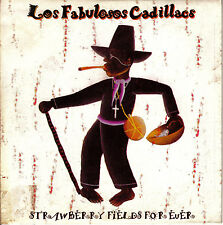 CD SINGLE FABULOSOS CADILLACS strawberry fields for ever SPAIN 1995 REGGAE SKA