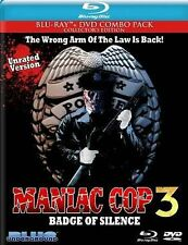 Maniac Cop 3: Badge of Silence (Blue Underground) DVD Disc Only FREE SHIPPING!!