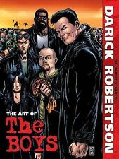 Art of the Boys The Complete Covers by Darick Robertson 9781606905371 Hardback