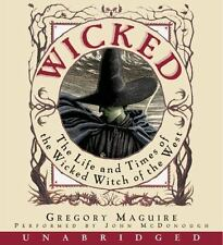 WICKED Life and Times  UNABRIDGED AUDIO BOOK GREGORY MAGUIRE WITCH 16 CD'S/new