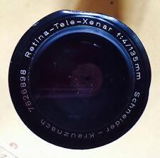 Schneider-Kreuznach Retna Tele Xenon F:4 /135mm  DKL mount  Kodak Retna Reflex
