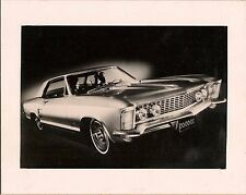 1963 Buick Riviera, Mounted Original 1963 Press Photo black & White gloss