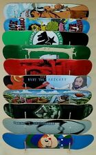 SKATEBOARD DISPLAY RACK! Fits 10 Old or New School Decks: Powell Peralta Zorlac