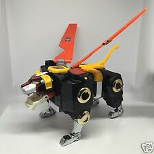 NEW Black Lion Voltron Complete DieCast Die Cast Metal Action Figure Golion lion