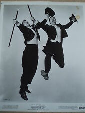 """Jerry Lewis Signaure & Vintage photo with Dean Martin """"LIVING IT UP"""""""