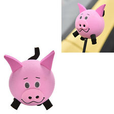 1 Pc Cute Pig Eva Decorative Car Antenna Topper Balls Pink  New PG