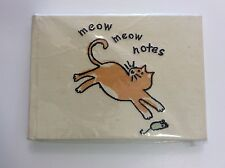NEW, Sealed - Meow Meow Notes : Cat Theme Notebook / Blank Journal