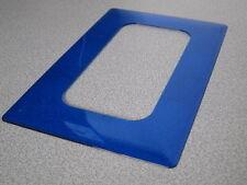 KOPP Dekorrahmen Tapetenschutz 2-fach DEKOR blau UP Unterputz alle Serien