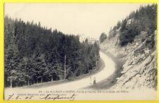 CPA de St CLAUDE (Jura) à GENÈVE Col de la Faucille Côté de la SUISSE en 1905