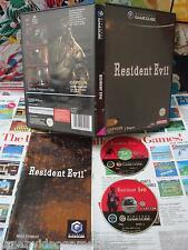Game Cube:Resident Evil [TOP CAPCOM & 1ERE EDITION] COMPLET - Fr