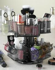 Makeup Organizer Cosmetic Storage Rack Spin Holder Stand Carousel Vanity Sturdy