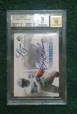 BARRY SANDERS 2003 SP Authentic Sign of the Times #BA AUTO BGS 9 SN# 11/43 Mint