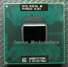 Intel core 2 duo T9400 SLGE5 2.53 Ghz / 6 m / 1066 processor