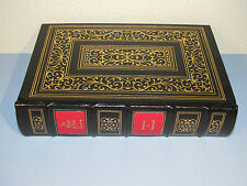 Easton Press THE SECOND WORLD WAR HINGE OF FATE Winston Churchill WWII Leather