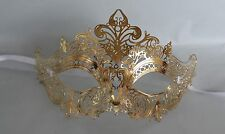 Gold Filigree Metal Masquerade Mask * NEW * Express Post Available