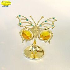 BUTTERFLY GOLD CRYSTOCRAFT SWAROVSKI ELEMENTS