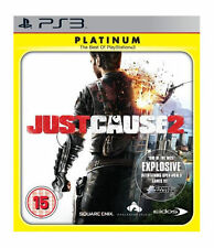 Just Cause 2 -- Platinum Edition (Sony PlayStation 3, 2010) - European Version