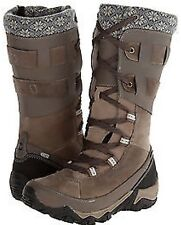 WOMEN BOULDER TAUPE MERRELL POLARAND ROVE PEAK WATERPROOF WINTER SNOW BOOTS SZ 7