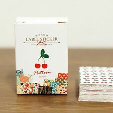 Nacoo's Kawaii Small Label Sticker Set ( 48 pcs in paper box ) - Pattern