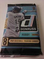 2015 Panini Donruss Hobby Pack 8 Cards Baseball Autograph Game-used Trout Harper