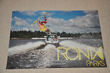 RONIX PARKS BANNER NEON BUTTER Danny Harf Wakeboard With DECAL Stickers