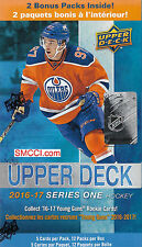2016 17 2017 Upper Deck Series 1 NHL Hockey Unopened Blaster Box Jersey Rookies