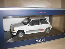 RENAULT 5 r5 SUPERCINQ GT TURBO PH. II PANDA WHITE in 1:18 di NOREV