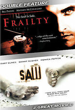 Frailty/Saw (Double Feature), New DVD, Cary Elwes, Bill Paxton,