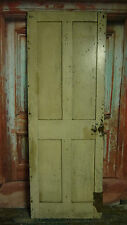S01 (25 3/4 x 71 1/2) Little old vintage reclaimed period pine door nr York