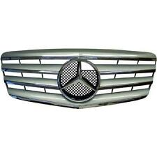 PARE CHOC,CALANDRE, GRILLE MERCEDES W211 CLASSE E 06-09 CL STYLE CHROM / SILVER
