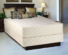 Comfort Pedic Extra Firm Eurotop Queen Size Mattress and Boxspring Set