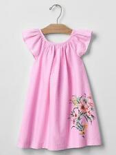 BABY GAP GIRL GARDEN BORDER FLUTTER DRESS NWT 3T N12